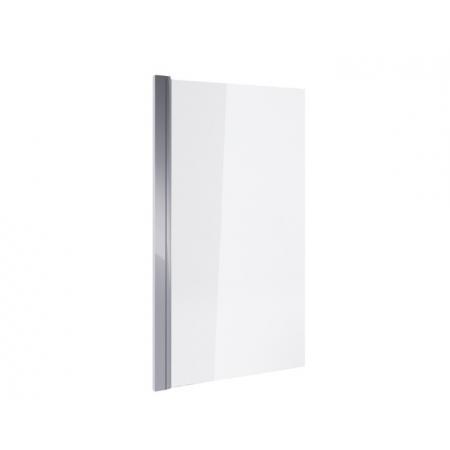 Excellent Seria 900 Parawan nawannowy jednoczęściowy 73x145 cm profile chrom szkło przezroczyste z powłoką CleanControl KAAC.1619.730.LP