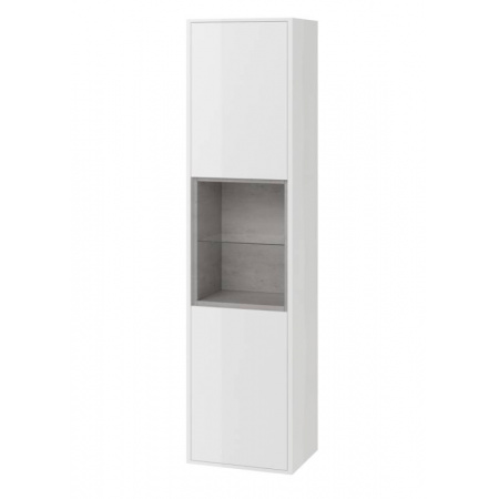 Excellent Tuto Słupek 40x32x160 cm, biały/beton MLEX.0201.400.WHCO