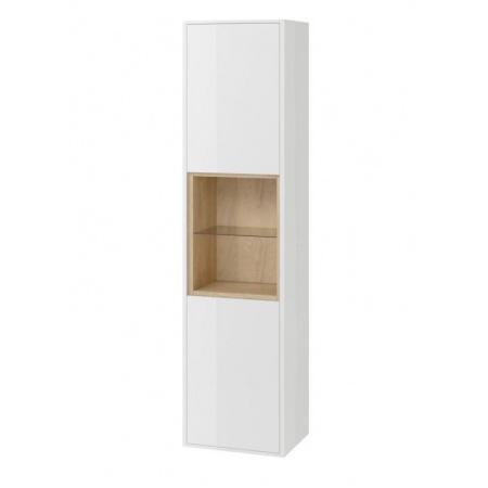 Excellent Tuto Słupek 40x32x160 cm, biały/dąb MLEX.0201.400.WHBL
