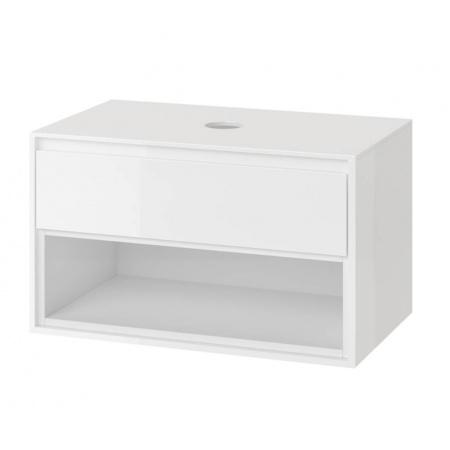 Excellent Tuto Szafka podumywalkowa 80x45,7x48 cm z blatem, biały/biały MLEX.0102.800.WHWH