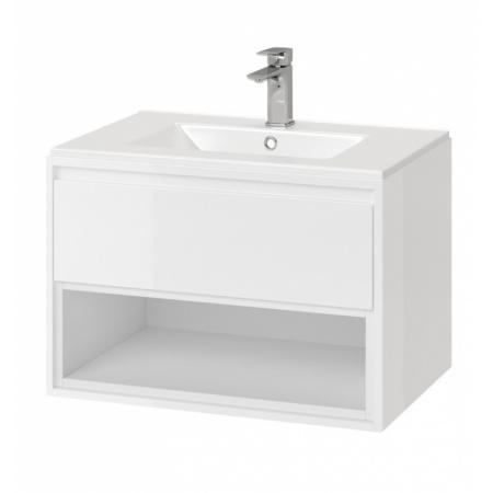 Excellent Tuto Zestaw Szafka podumywalkowa 60x45,7x48 cm z umywalką As, biały/biały MLCE.0101.3617.600.WHWH