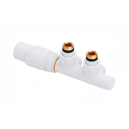 Excellent Volaro Zestaw termostatyczny zintegrowany 5 cm lewy biały mat GREX.VO50L.WH