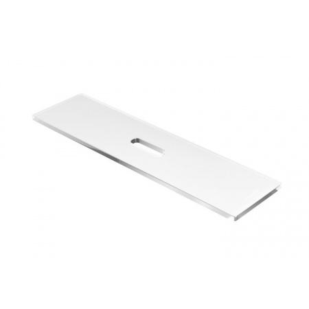 Excellent Zen Półka wannowa prosta 75x20x15 cm akrylowa, przezroczysta DOEX.1101.750.TR