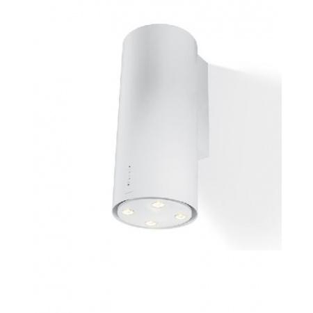 Faber Cylindra Gloss W 37 Okap przyścienny 37 cm, biały 110.0156.633