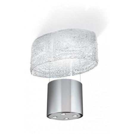 Faber F-Light Nest Okap wyspowy 86 cm opuszczany, inox 110.0157.234