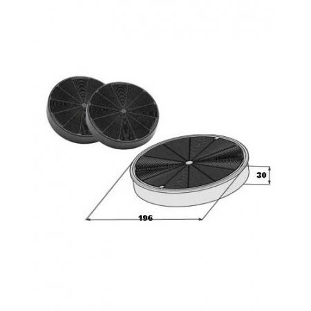 Faber Filtr węglowy zestaw 2 szt, 112.0169.114