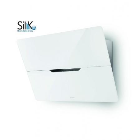 Faber Jolie ACT BK 80 Okap przyścienny 80 cm z technologią Sil-K Act, biały 110.0324.934