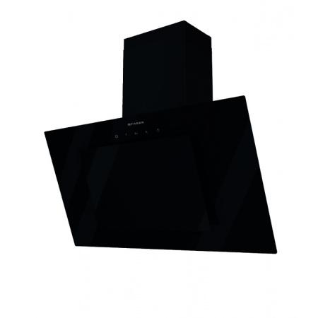Faber Kikka BK 90 Okap przyścienny 90 cm, czarny 110.0387.564