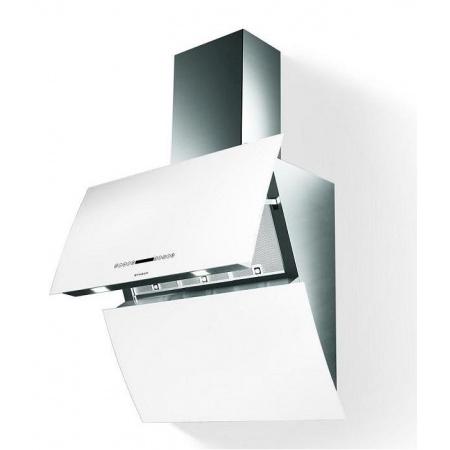 Faber Mirror BRS WH X/V 80 Logic Okap przyścienny 80 cm, biały 110.0255.528