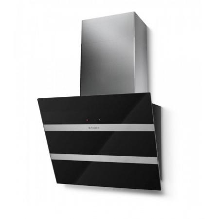 Faber Steelmax EG8 BK/X 55 Okap przyścienny 55 cm, czarny 110.0388.479