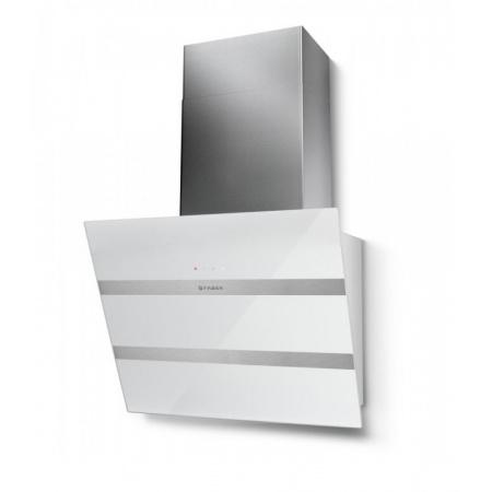 Faber Steelmax EG8 WH/X 55 Okap przyścienny 55 cm, biały 110.0388.737