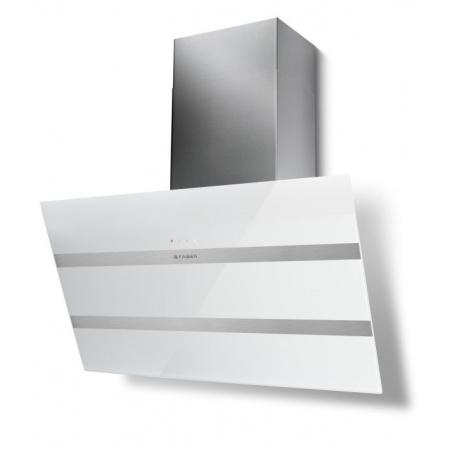 Faber Steelmax EG8 WH/X 80 Okap przyścienny 80 cm, biały 110.0388.797