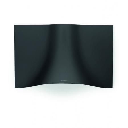 Faber Veil BK 90 Okap przyścienny 90 cm w kształcie welonu, czarny mat 110.0324.954