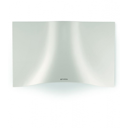 Faber Veil WH Corian 90 Okap przyścienny 90 cm w kształcie welonu, biały mat 110.0324.952