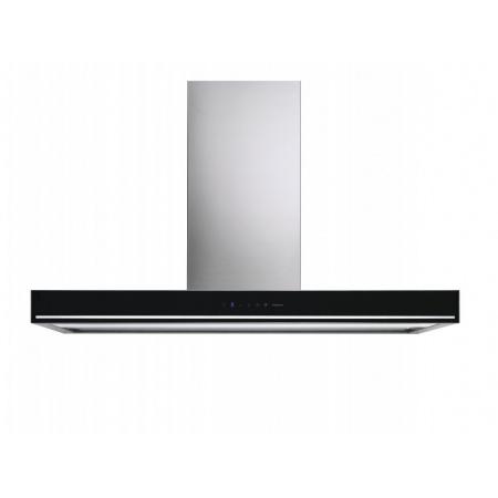 Falmec Design Blade Okap przyścienny 90x46,5 cm, stalowy/czarny CBLN90.01P6#ZZZN491F