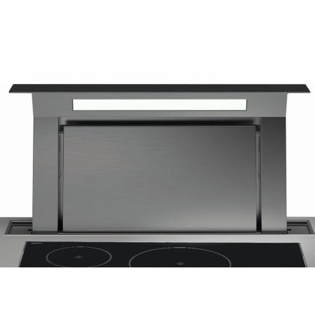 Falmec Design+ Down Draft Okap wysuwany z blatu 90 cm, stalowy/czarny CDDW90.E1P2#ZZZN400F
