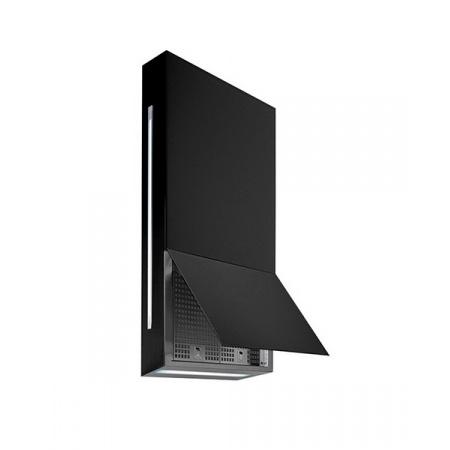 Falmec Design+ Ghost Okap przyścienny 60 cm, stalowy/czarny FALDESIGNPGHOSTPC