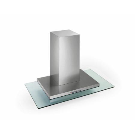 Falmec Design Kristal Isola Okap wyspowy 90x62,5 cm, stalowy/szklany CKRI90.E0P1#I491F