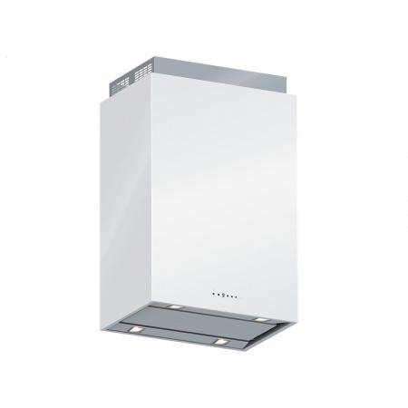 Falmec Design+ Laguna Isola Okap wyspowy 60x42 cm, stalowy/biały CLDI6075.E0P2#ZZZI491F+KACL.822#F