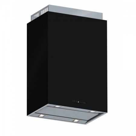 Falmec Design+ Laguna Isola Okap wyspowy 60x42 cm, stalowy/czarny CLDI6075.E0P2#ZZZI491F+KACL.822#N