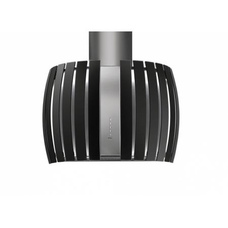 Falmec Design+ Prestige Isola Okap wyspowy 75,4 cm, stalowy/czarny FALDESIGNPPRESTIGEWC