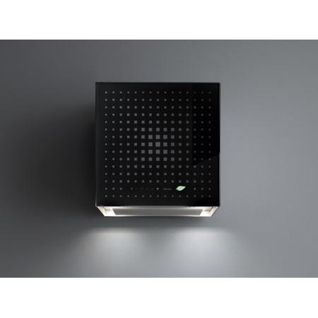 Falmec E.ion System Rubik Okap przyścienny 42x43x42 cm, czarny CERN42.E0P6#ZZZN441F