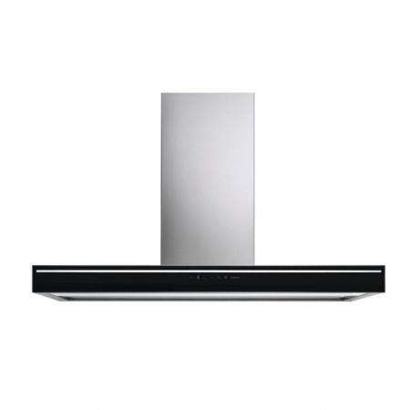 Falmec Silence - NRS Lumina Okap przyścienny 120x48 cm, czarny CLMN20.00P2#NROI490F