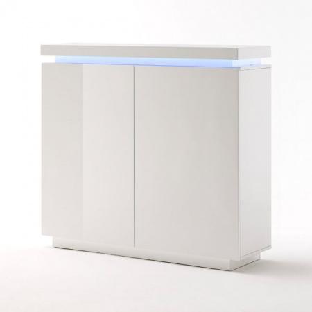 Fato Luxmeble Atlantic Komoda 2D, biała 8562