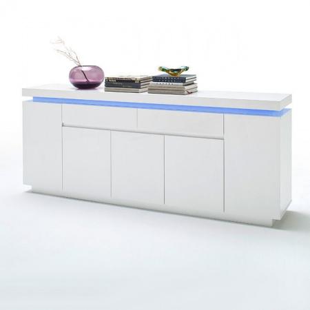 Fato Luxmeble Atlantic Komoda 5+2, biała 8559