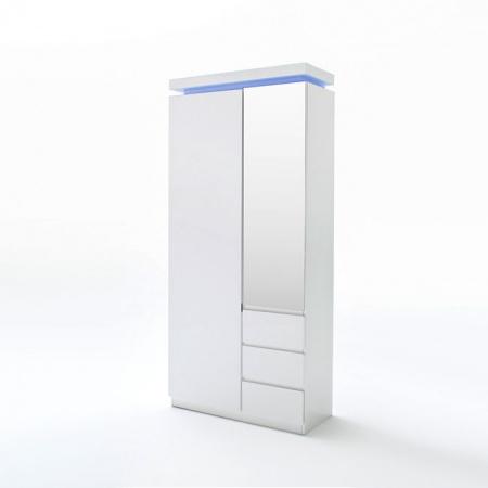 Fato Luxmeble Atlantic Szafka garderobiana, biała 8564