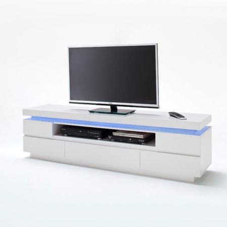 Fato Luxmeble Atlantic Szafka RTV z wnęką 5S, biała 8556
