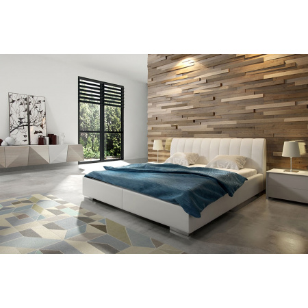 Fato Luxmeble Orinoko Łóżko tapicerowane 120 cm, beżowe 16540