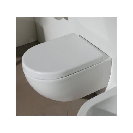 Flaminia App Muszla klozetowa miska WC podwieszana 48,5x36x27 cm, biała AP119