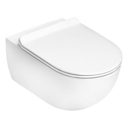 Flaminia App Toaleta WC podwieszana 54x36x27 cm GoClean bez kołnierza wewnętrznego, biała AP118G