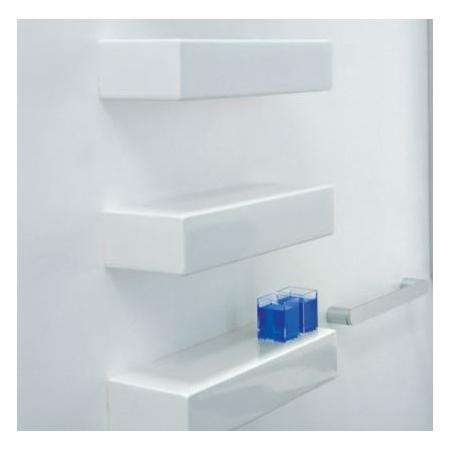 Flaminia Brick Półka ceramiczna 53x19,5x11 cm, biała 5090