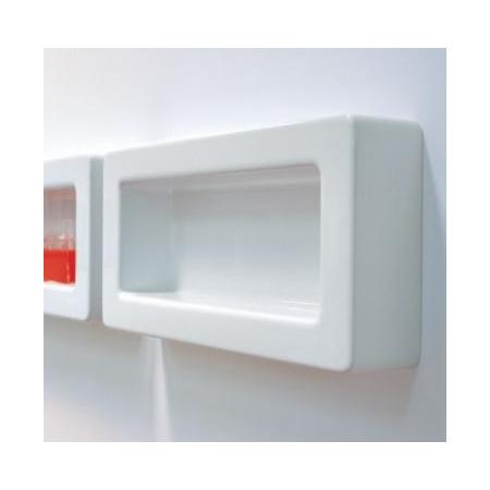 Flaminia Frame Półka ceramiczna 60x12x30 cm, biała FR30