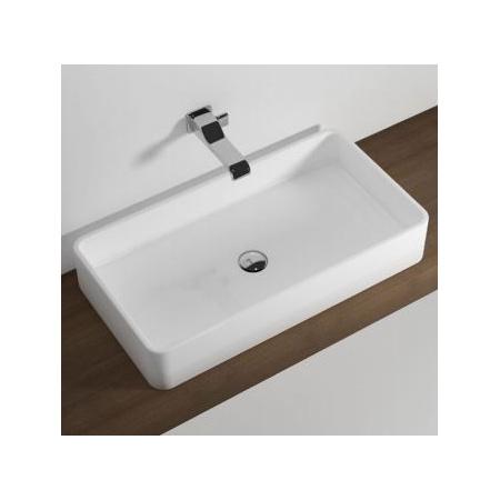 Flaminia Miniwash Umywalka nablatowa 75x40x13 cm, biała MWL75