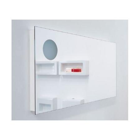 Flaminia Simple Lustro prostokątne 120x60x6 cm, NDS120D