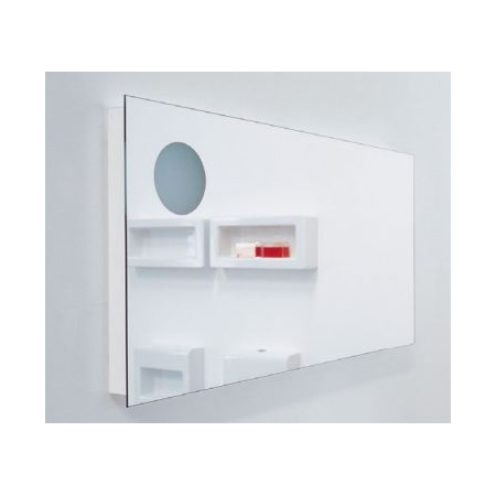 Flaminia Simple Lustro prostokątne 120x60x6 cm, NDS120S