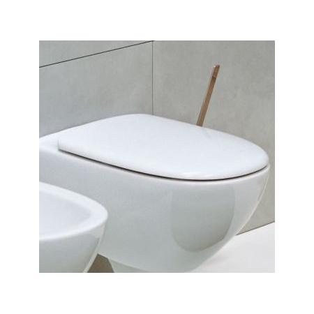 Flaminia Spin Deska sedesowa wolnoopadająca 46,5x35x4,5 cm, biała 5085CW03