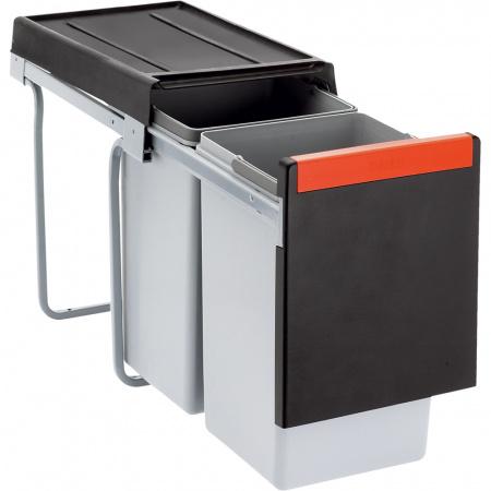 Franke Cube 30 Sortownik do odpadów, czarny 134.0039.554
