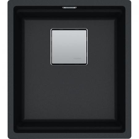 Franke Kanon KNG 110-37 Zlewozmywak granitowy jednokomorowy 41x46 cm onyx czarny 125.0528.628