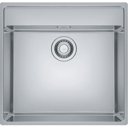 Franke Maris MRX 210-50 TL Zlewozmywak stalowy jednokomorowy 53x51 cm na równi z blatem, slimtop, stalowy 127.0544.022
