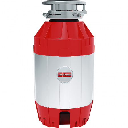 Franke Turbo Elite TE-125 Młynek rozdrabniacz do odpadów z włącznikiem, chrom/czerwony 134.0535.242