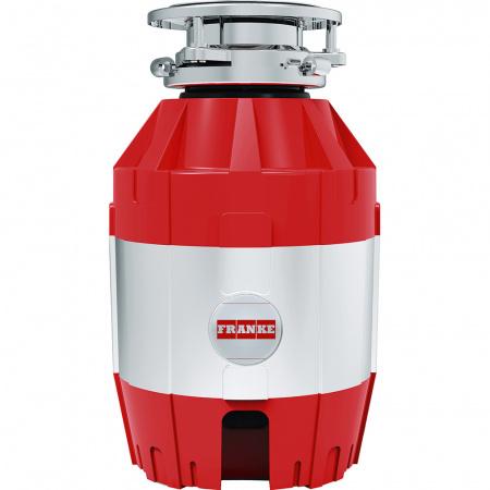 Franke Turbo Elite TE-50 Młynek rozdrabniacz do odpadów z włącznikiem, chrom/czerwony 134.0535.229