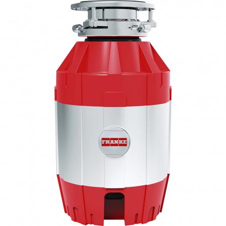 Franke Turbo Elite TE-75 Młynek rozdrabniacz do odpadów z włącznikiem, chrom/czerwony 134.0535.241
