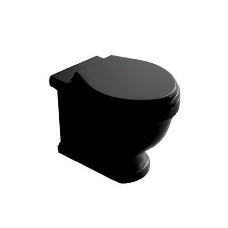 Galassia Ethos Miska WC stojąca 55x38cm, z odpływem uniwersalnym, czarna 8437NE