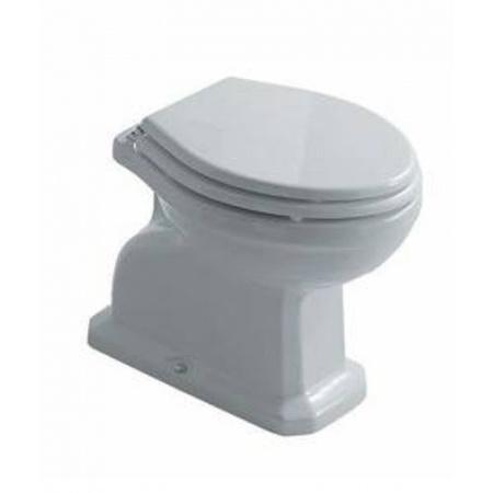 Galassia Ethos Miska WC stojąca 56x38cm, z odpływem pionowym, biała 8402