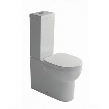 Galassia M2 Miska WC kompaktowa 60x35cm, lejowa, biała 5220