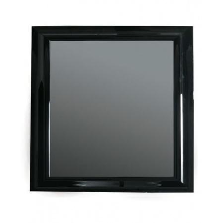 Galassia Midas Lustro 120x110cm w lakierowanej ramie, czarne 5562NE